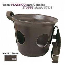 BOZAL PLÁSTICO PARA CABALLO STUBBS S7533