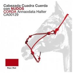 CABEZADA CUADRA CUERDA CON NUDOS UMBRIA CA00129