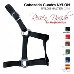 CABEZADA CUADRA NYLON RECIEN NACIDO 0278