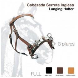 CABEZADA SERRETA INGLESA 3 pilares 627 FULL