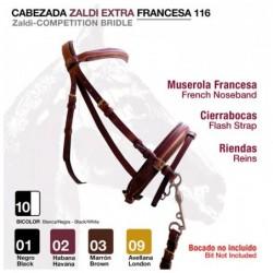 CABEZADA ZALDI EXTRA FRANCESA 116