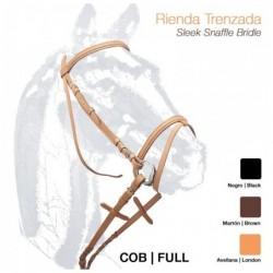 CABEZADA MONTAR RIENDA TRENZADA 1503
