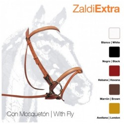 CABEZADA ZALDI EXTRA 203 CON MOSQUETONES