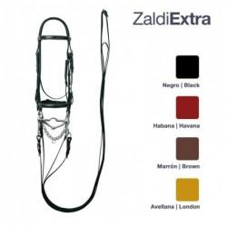 Cabezada Zaldi Extra Doble Rienda Nº125