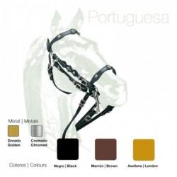 Cabezada Portuguesa Doble Rienda