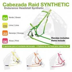 Cabezada Raid Synthetic Sin Riendas