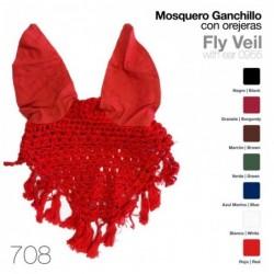MOSQUERO GANCHILLO CON OREJERAS 708