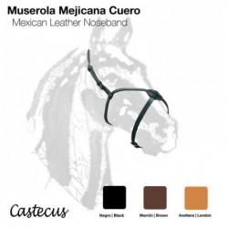 MUSEROLA MEJICANA CUERO CASTECUS
