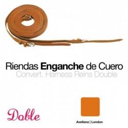 ENGANCHE RIENDAS DOBLE 0764 SUELTAS AVELLANA