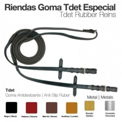 RIENDAS GOMA TDET ESPECIAL