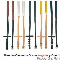 RIENDAS CASTECUS GOMA CUERO 1804