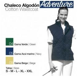 CHALECO ALGODÓN ADVENTURE...