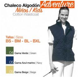 CHALECO ALGODÓN ADVENTURE NIÑO