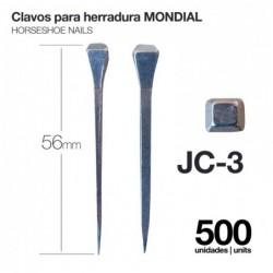 CLAVOS PARA HERRADURA MONDIAL JC-3 500uds