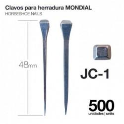 CLAVOS PARA HERRADURA MONDIAL JC-1 500uds