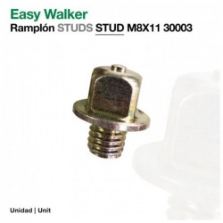 EASY WALKER: RAMPLÓN STUDS M8X11 30003(ud)