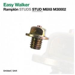 EASY WALKER: RAMPLÓN STUDS M8X8 30002(ud)