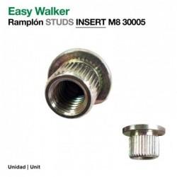 EASY WALKER: RAMPLÓN INSERT M8 30005(ud)