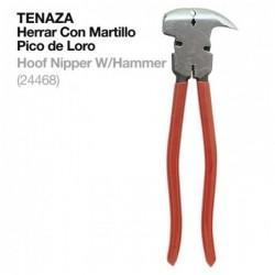 TENAZA HERRAR CON MARTILLO PICO DE LORO 24468