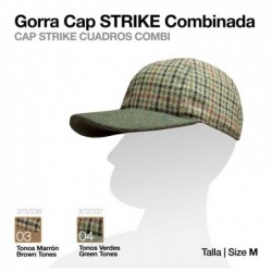 GORRA CAP STRIKE COMBINADA CUADRO