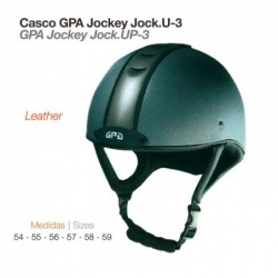 CASCO GPA JOCKEY JOCK.UP-3 LEATHER 2X