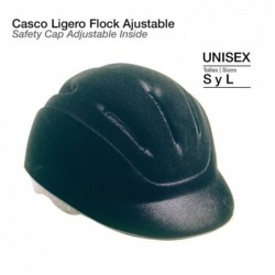 CASCO LIGERO FLOCK AJUSTABLE RC5363A-SK