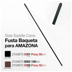 FUSTA BAQUETA PARA AMAZONA 100 cm.