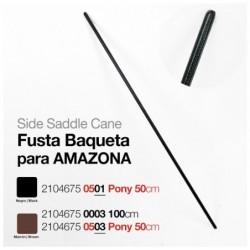 FUSTA BAQUETA PARA AMAZONA PONY 50 cm.