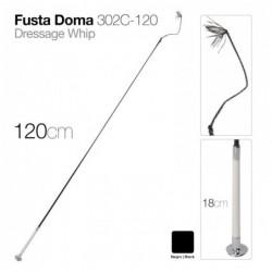 FUSTA DOMA 302C-120 NEGRO 120cm