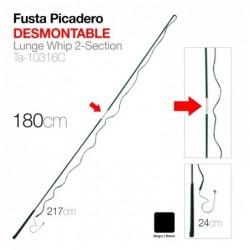 FUSTA PICADERO DESMONTABLE 180cm