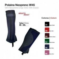 POLAINA NEOPRENO ADULTO W45