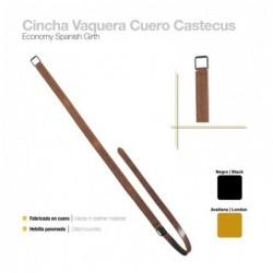 CINCHA VAQUERA CUERO CASTECUS