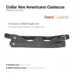 COLLAR AIRE AMERICANO CUERO CASTECUS 894 MARRÓN
