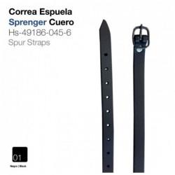 CORREA ESPUELA SPRENGER CUERO NEGRO HS-49186-045-6