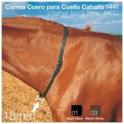 CORREA CUERO PARA CUELLO CABALLO 1441