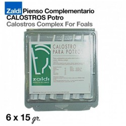 ZALDI PIENSO COMPLEMENTARIO CALOSTROS POTRO 6x15gr