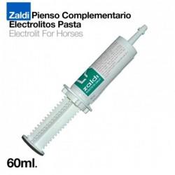 ZALDI PIENSO COMPLEMENTARIO ELECTROLITOS PASTA 60m