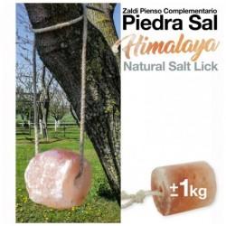 ZALDI PIENSO COMPLEMENTARIO PIEDRA SAL HIMALAYA +/-1kg