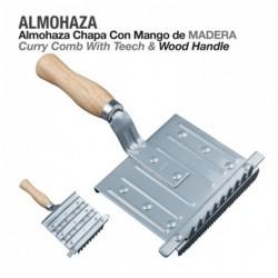 ALMOHAZA CHAPA CON MANGO MADERA TH-5026-1
