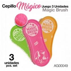 CEPILLO MÁGICO JUEGO 3 UNIDADES AG00049