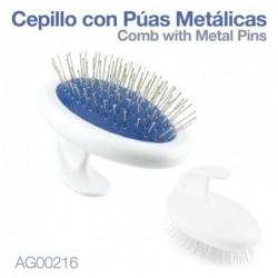 CEPILLO CON PUAS METÁLICAS AG00216
