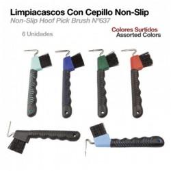 LIMPIACASCOS CON CEPILLO NON-SLIP 637 6uds