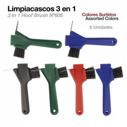 LIMPIACASCOS 3-IN-1 605 6uds