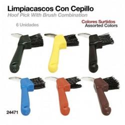 LIMPIACASCOS CON CEPILLO 24471 6uds