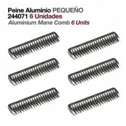 PEINE ALUMINIO PEQUEÑO 244071 6uds
