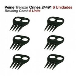 PEINE TRENZAR CRINES 24491 6uds