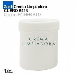 ZALDI CREMA LIMPIADORA CUERO B413 1kg