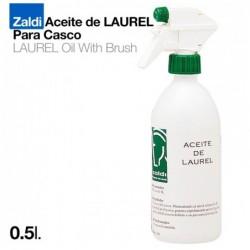 ZALDI ACEITE DE LAUREL PARA CASCO 0.5 litro