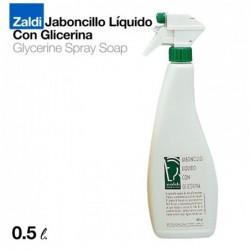 ZALDI JABONCILLO LÍQUIDO CON GLICERINA 0.5 litros