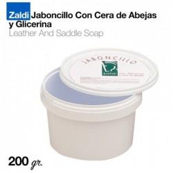 ZALDI JABONCILLO CON CERA ABEJA Y GLICERINA 200gr